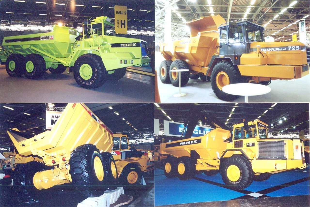 Dumpers 6x6 articulated