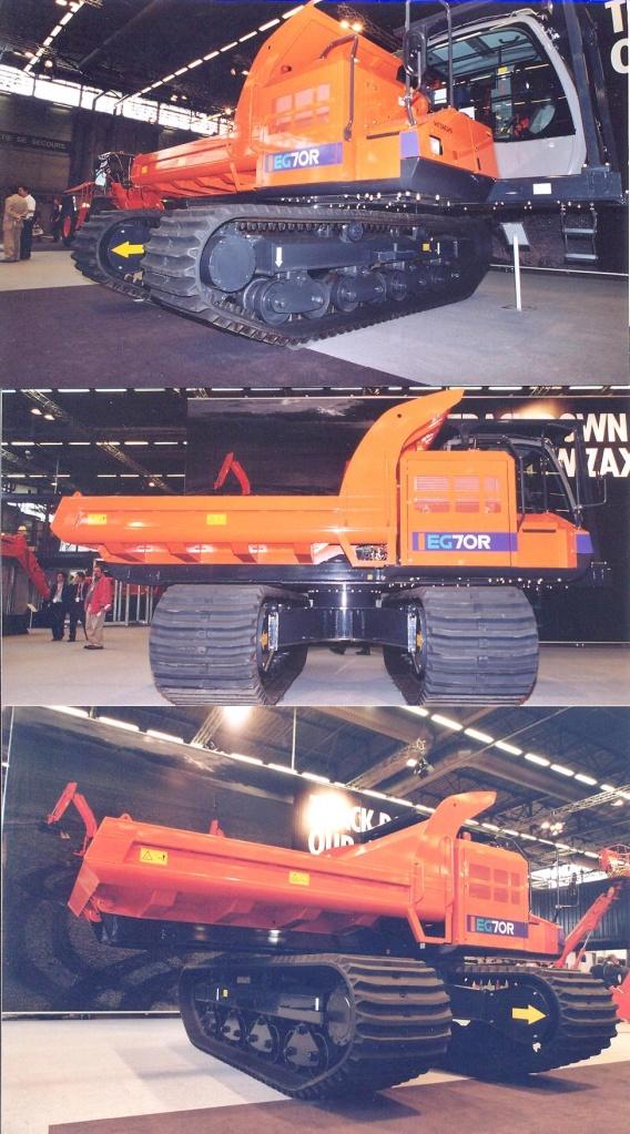 EG 70 R Hitachi dumper