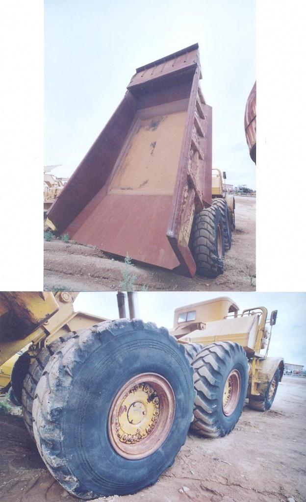 Euclid dump truck