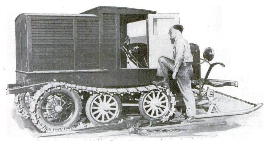 Ford Semi-tracked of Byrd, 1933