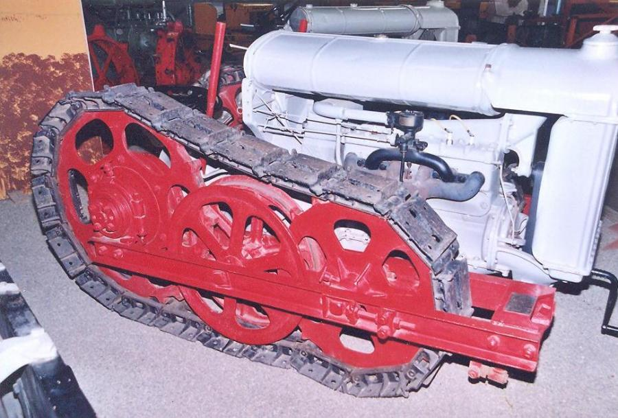Fordson F with Trakford conversion