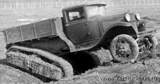 GAZ-60 Half-Track