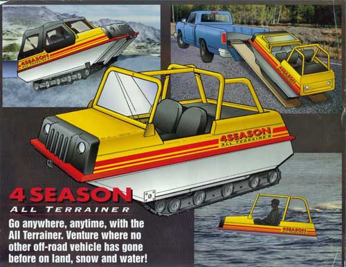 4-Seasons All Terrainer Model 54 amphibious transport