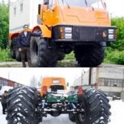 6x6 Artictrans Legkostup, Omsk