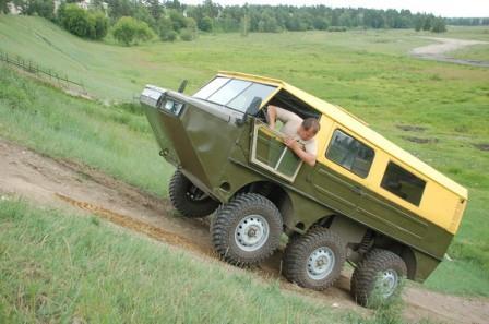 Amphibian 6x6  Gusev