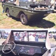 Amphibious Jeep GPA