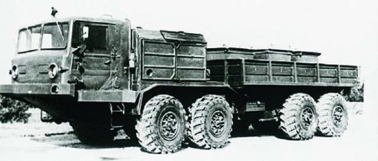 BAZ-6950, 8x8, 1976