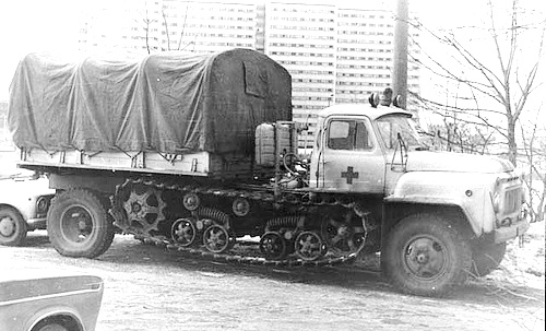 BVSM-80 Tracked-Wheeled Vehicle