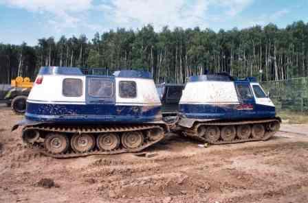 Bashkir articulated amphibious prototype