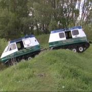 Cross-Country Tracked Vehicle from Tuimazinsky