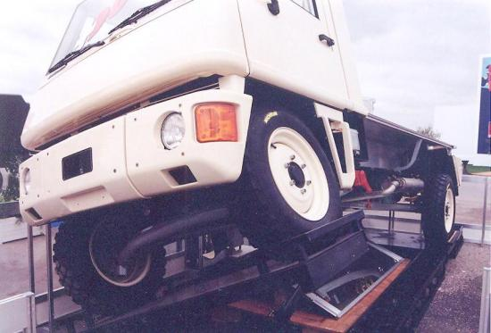 Duro 4x4 suspension