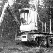 Excavator Karl Gustav, 1987