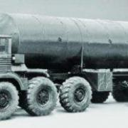 Experimental chassis T-103, 12x12, 1966