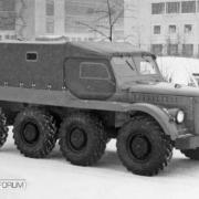 GAS 62B 8x8, 1956
