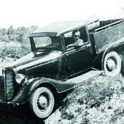 GAZ-21 prototype, 6x6, 1927