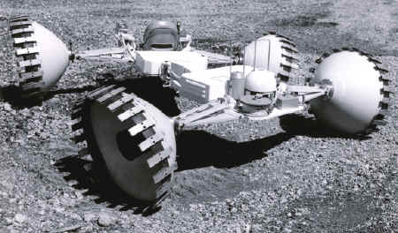 Grumman Lunar Roving Vehicle in 1965