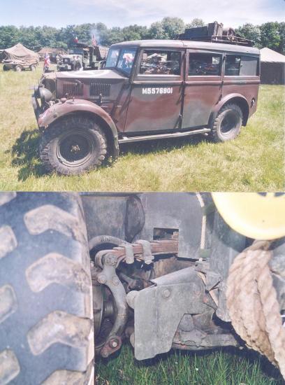 Humber 4x4 Staff Car, 1942