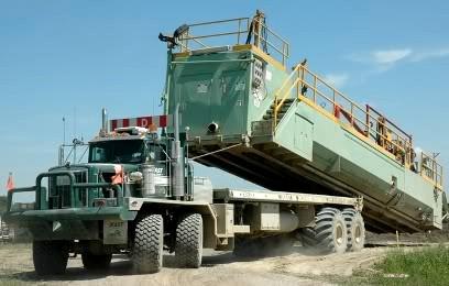 Kenworth C500 oilfield truck