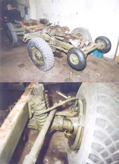 Laffly 4x4 chassis