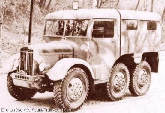Latil M2TZ in 1939