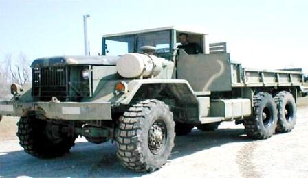 M 813 AM General Cargo Truck, 1974