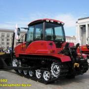 MTZ-1502 Tractor of Minsk Plant in Belarus