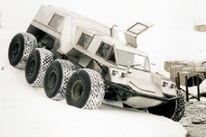 Mangazeya 8x8 Amphibious Vehicle