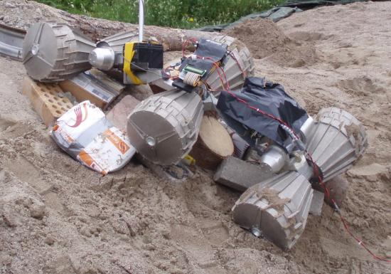 Marsokhod 6x6 robot