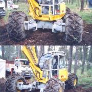 Menzi Muck A71 excavator