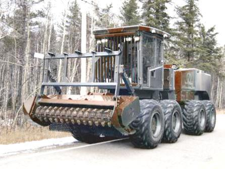 Nokamic mulcher Foremost