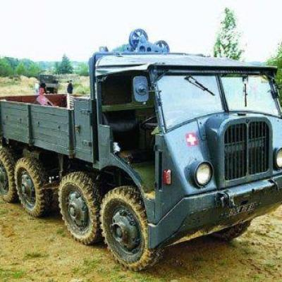 8X8 WHEELED RIGID VEHICLES, MEDIUM