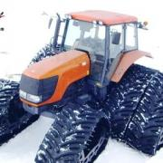 Soucy-Tracks on agricultural tractor