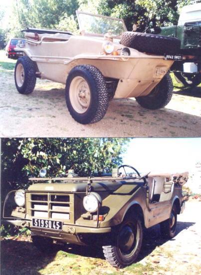 Swimwagen and Munga 4x4