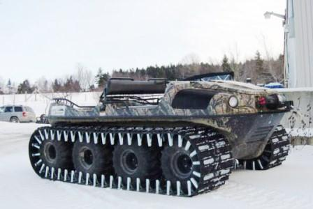 Tracked 8x8 Argo Amphibious ATV