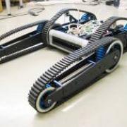 ITX04 Tank Tread Robot