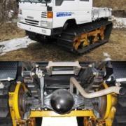 Tracks kit for utility vehicles
