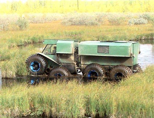 Trom ATV 8x8