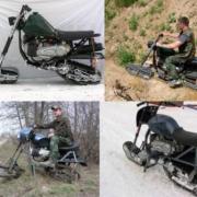 Two Tracks Motobike