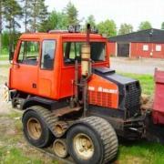Valmet tracked forest machine