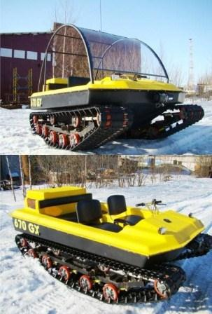 Viking tracked vehicle