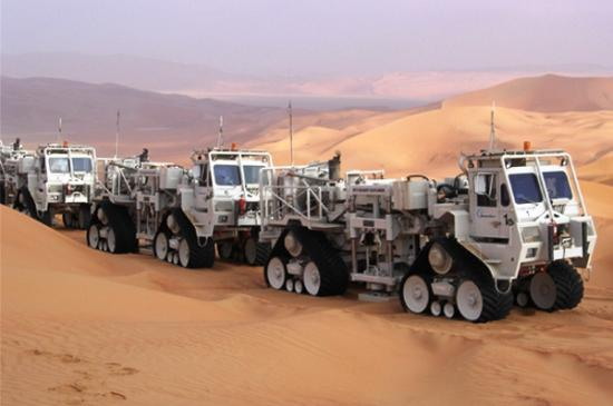 WesternGeco Desert Explorer Vibrators
