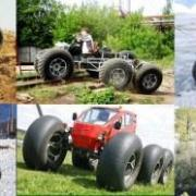 Wheeled off-road vehicles from Russia