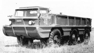 ZIL 132A 6x6 1969