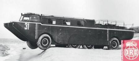ZIL 135P or VMS-135 II amphibious