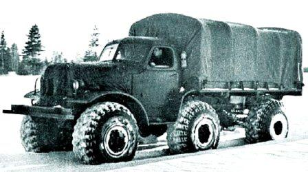 ZIL-157R, 6x6, 1957