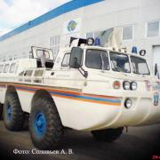 ZIL 4906 Bleubird Amphibious Vehicle