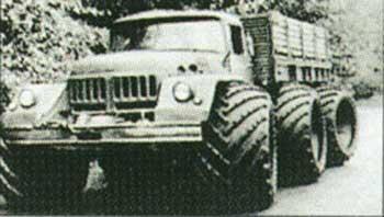 ZIL132 with Hoop Tyres