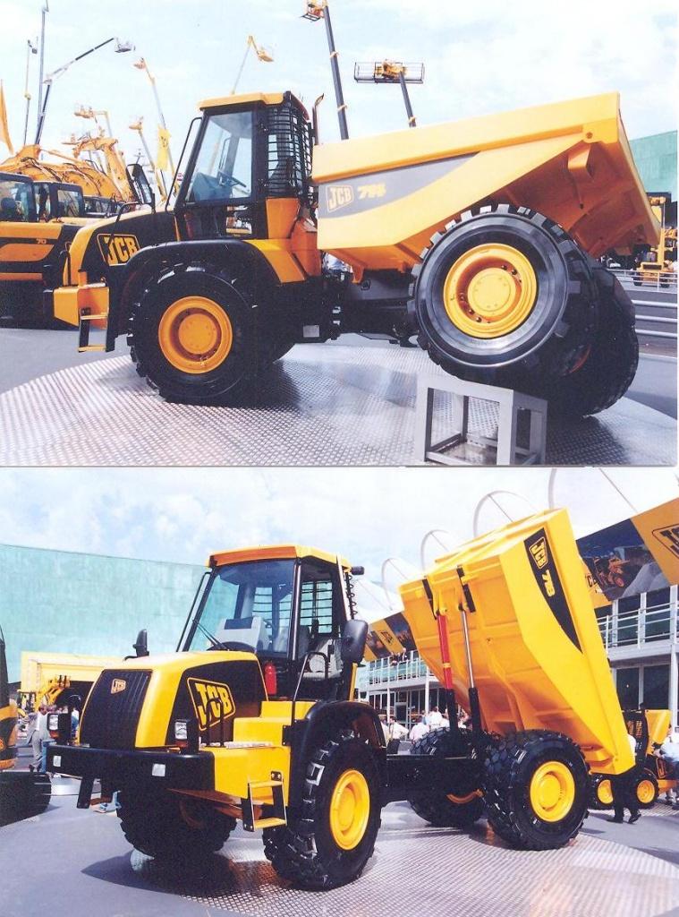 JCB 718 Dumper