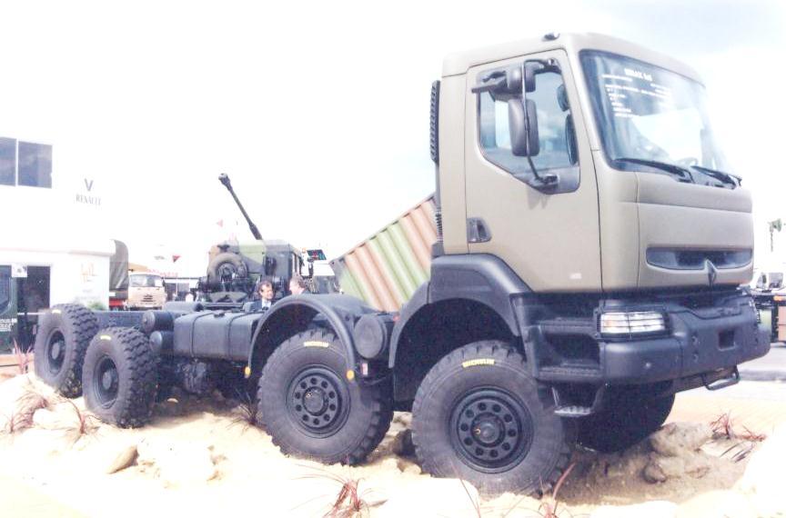 Kerax Renault Trucks 8x8