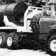 KRAZ 260  6x6 tractor and semi-trailer